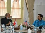 Konsulat Malaysia Bahas Kerjasama dengan Wali Nanggroe