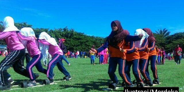 Permainan Tradisional Warnai HAN di Aceh Barat