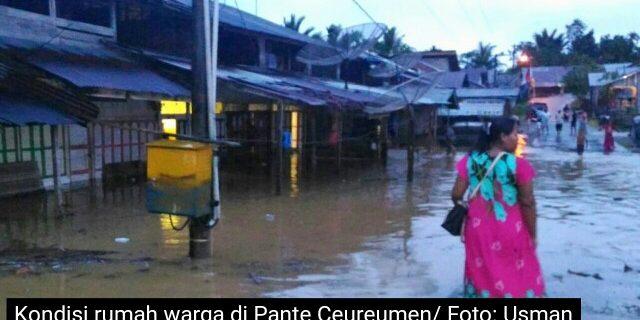 Banjir Landa Pante Ceureumen