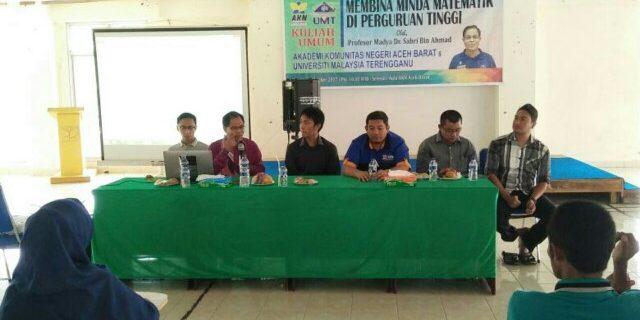 Guru Besar UMT Motivasi Mahasiswa AKN Aceh Barat