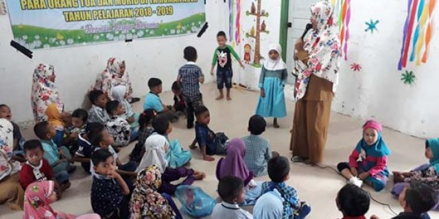 56 Anak Dhuafa Sekolah Gratis diTK RUMAN Aceh