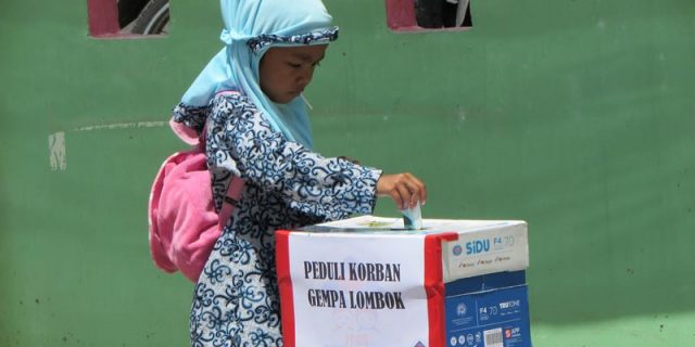 Peduli Lombok, Anak TK di Aceh Galang Dana