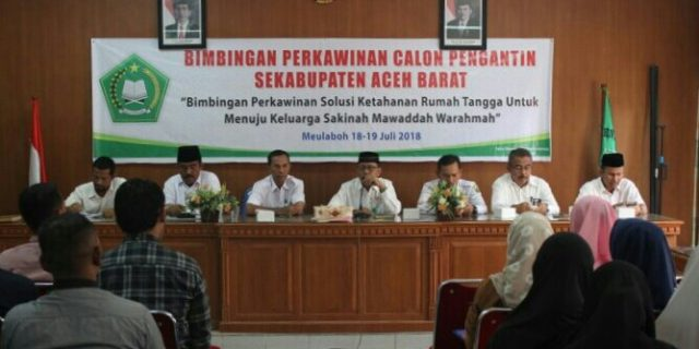 Kemenag Aceh Barat Gelar Suscatin