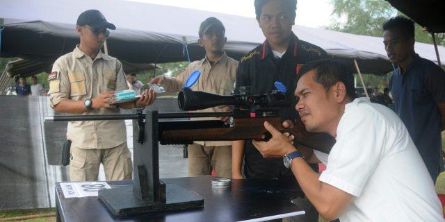 Palapa Shooting Club Gelar Turnamen Piala Danlanal