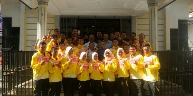 KONI Aceh Lepas Atlet PABBSI dan Taekwondo ke Kejurnas