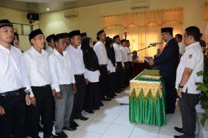 KIP Aceh Barat Lantik 24 PPK Tambahan