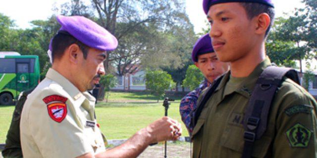 Menwa UIN Ar-Raniry Diksarmil di Batalyon Jantho