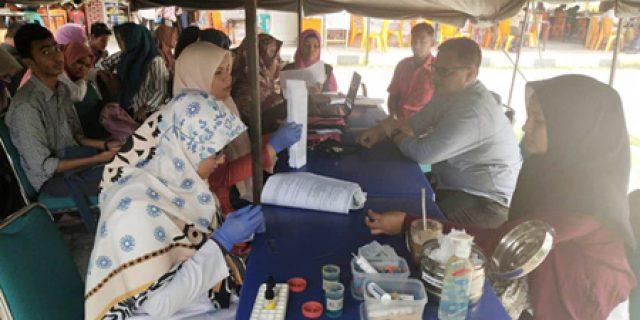 Alumni Menwa UIN Kumpulkan 38 Kantong Darah