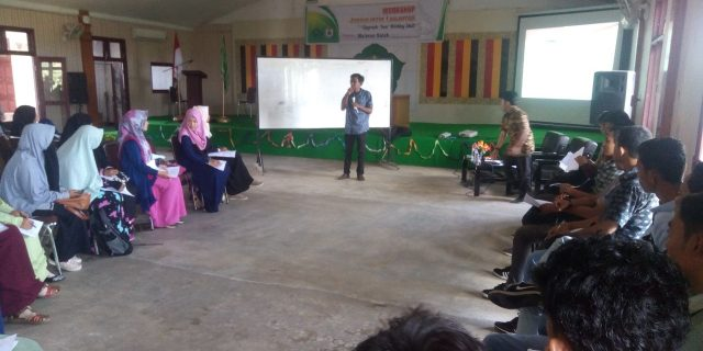 HIMA DKI STAIN Adakan Workshop Jurnalistik