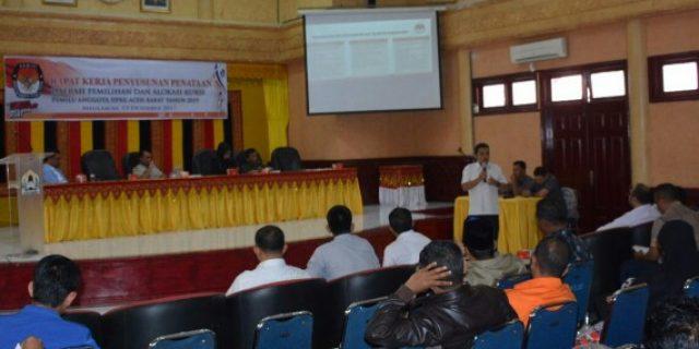 Hadapi Pemilu 2019, KIP Aceh Barat Petakan Dapil