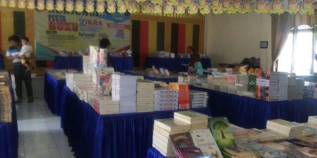 Pesta Buku di Bumi Teuku Umar