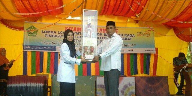 Aneka Lomba Meriahkan Milad MTsN 3 Aceh Barat