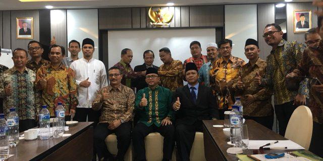 Ketua STAIN Meulaboh Presentasi Kesiapan Menjadi IAIN
