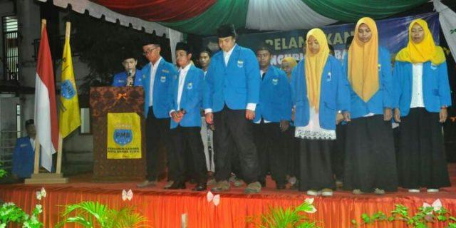 PC PMII Banda Aceh Dilantik