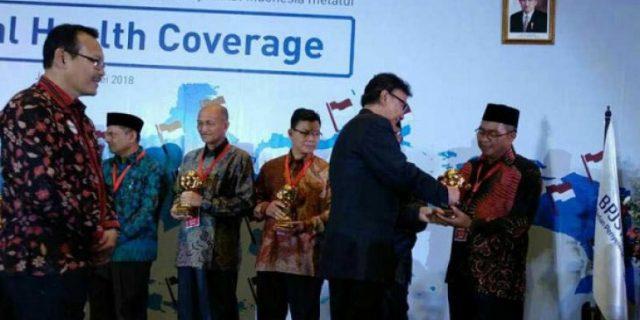 Aceh Barat Terima Anugerah UHC Award 2018