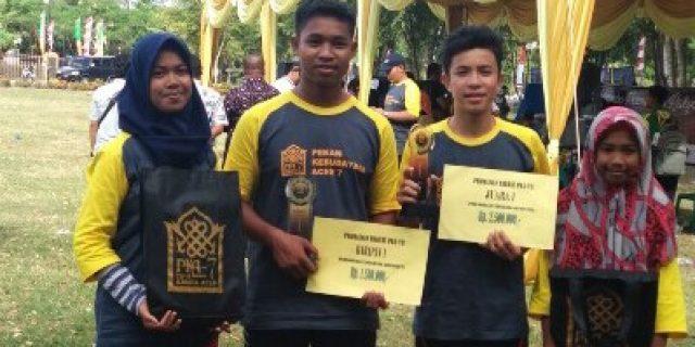 Aceh Barat Juara 1 Lomba Geunteut pada PKA 7