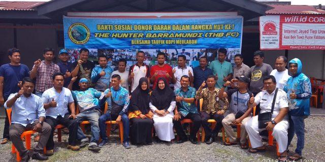 Aksi Sosial Ala Komunitas Mancing THB FC