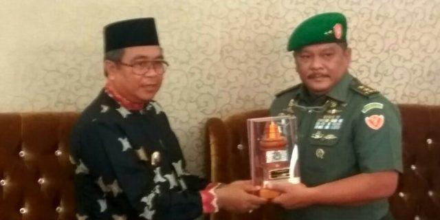 Kapuskesad Lakukan Kunjungan Kerja di Aceh Barat