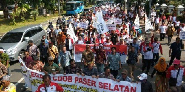 Massa CDOB Desak Jokowi Teken PP Pemekaran Daerah Otonomi Baru