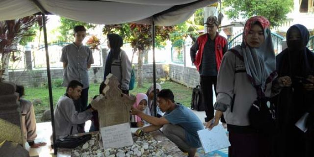 Mahasiswa UIN Ar-Raniry Teliti Situs Sejarah di Aceh Utara