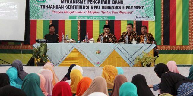 Kemenag Aceh Barat Perkenalkan E-Payment Sertifikasi Guru