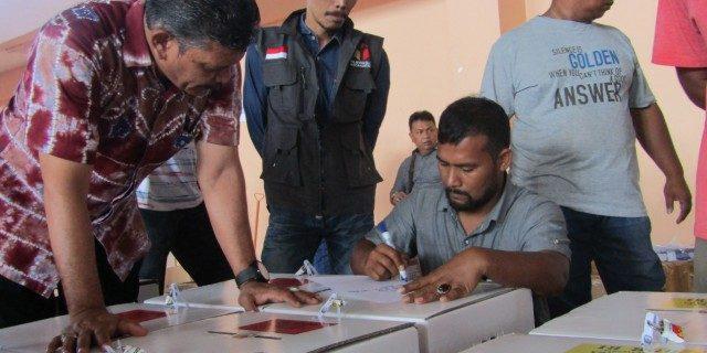 Panwaslih Kota Banda Aceh Awasi Ditribusi Logistik Pemilu