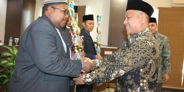 KUA Meureubo Juara Tiga KUA Teladan Provinsi Aceh