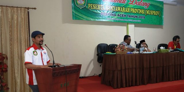 Azhari Cage Kembali Komandoi Pertina Aceh