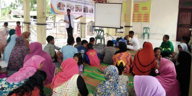Masyarakat Meureubo Diberi Pemahaman Bahaya Hipertensi