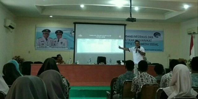 Kominfo Aceh Barat Sosialisasi UU ITE