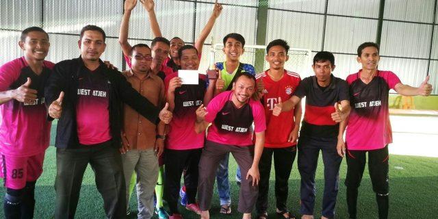 Kalahkan RS CND, Kemenag Juara Turnamen Futsal