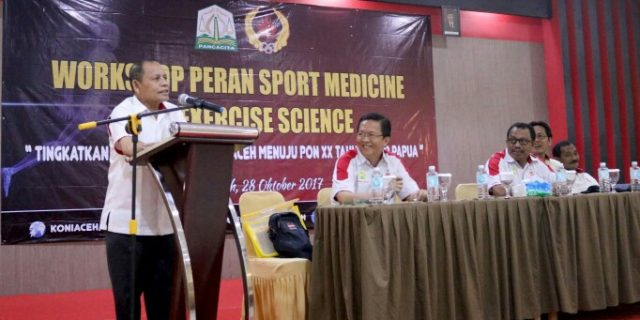KONI Aceh Bekali Pelatih Sport Medis