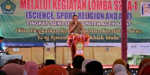 Rayakan Milad, MTsN 3 Aceh Barat Gelar S2RA-I