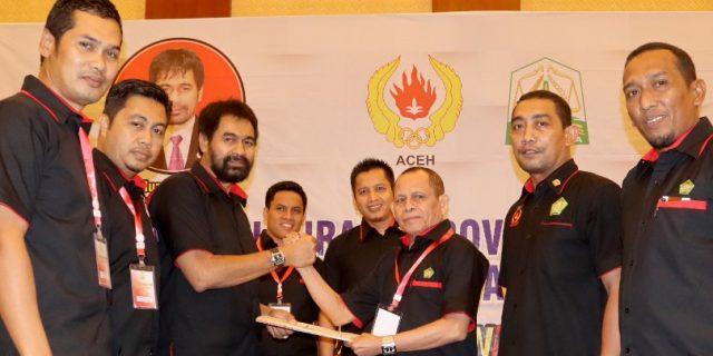 Mualem Kembali Pimpin KONI Aceh
