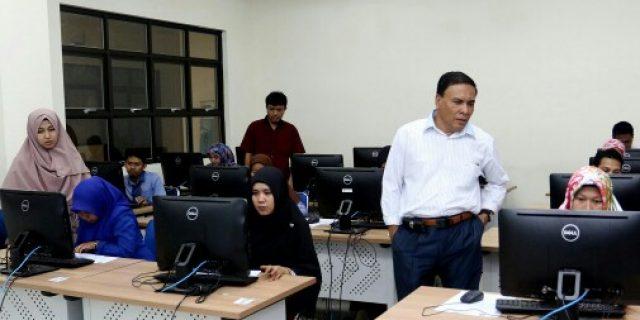 Tenaga Kontrak UIN Ar-Raniry Ikut Tes IT