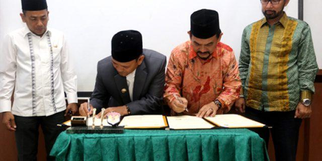 UIN dan Aceh Besar Kerjasama Peningkatan SDM