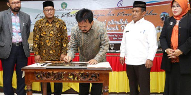 Rektor UIN Ar-Raniry Launching Klinik Konseling Islam