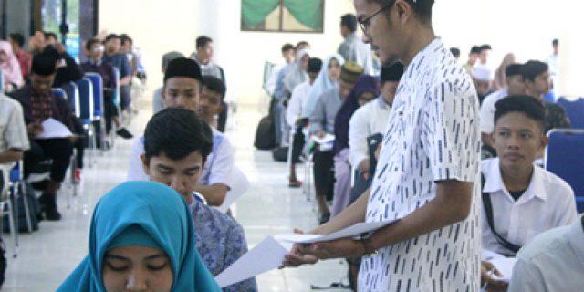 Calon Mahasiswa Timur Tengah Ikut Tes di UIN Ar-Raniry