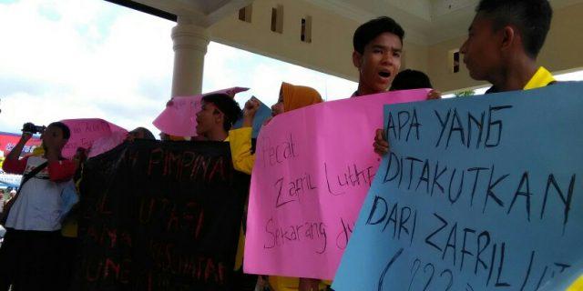 Mahasiswa Kembali Minta Kadinkes Aceh Barat Dicopot