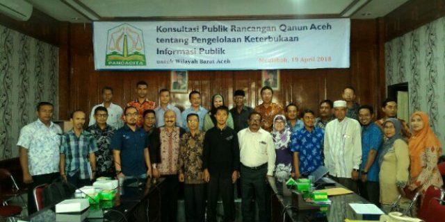 Kominfo Aceh Bahas Raqan Keterbukaan Informasi