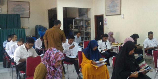 Kemenag Aceh Barat Seleksi Pegawai Pramubakti