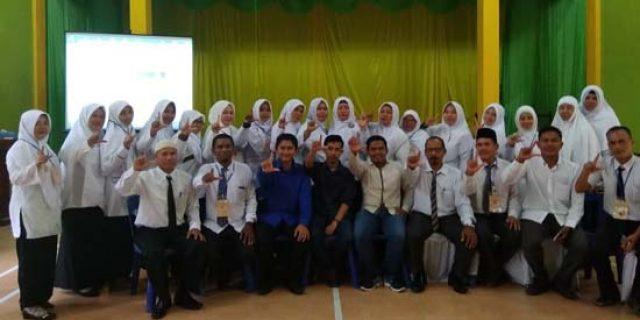 Guru Madrasah di Tamiang Dilatih Teknis Pengelolaan Perpustakaan