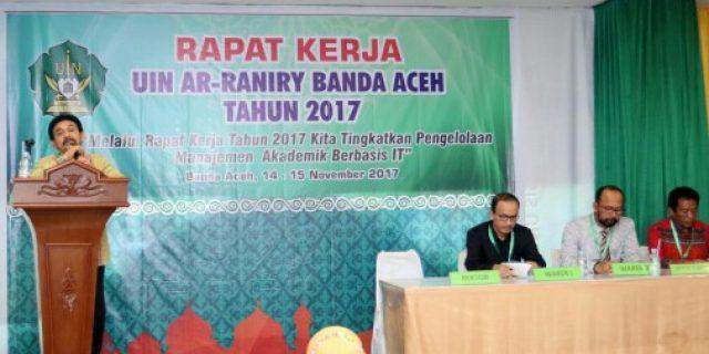 UIN Ar-Raniry Perkuat Manajemen Berbasis IT