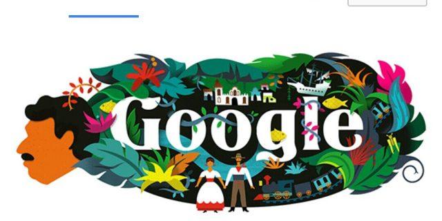 Tampil di Google Doodle Hari Ini, Siapa Gabriel García Marquez?