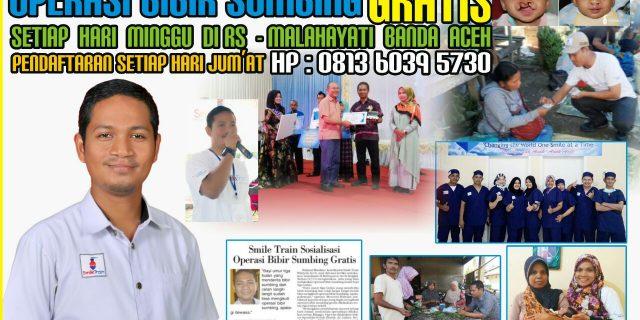 Smile Train Aceh Buka Layanan Operasi Gratis