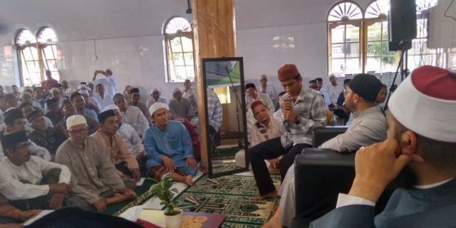 Ulama Qiraat Al-Azhar Latih Tahsin Alquran di Meulaboh