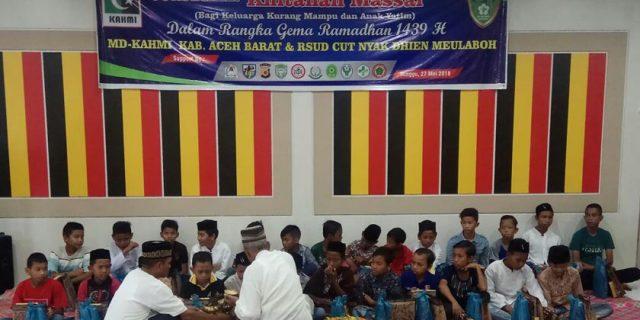 KAHMI Aceh Barat Gelar Khitanan Massal
