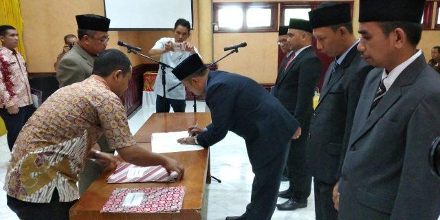 Ramli Lantik Komisioner KIP Aceh Barat