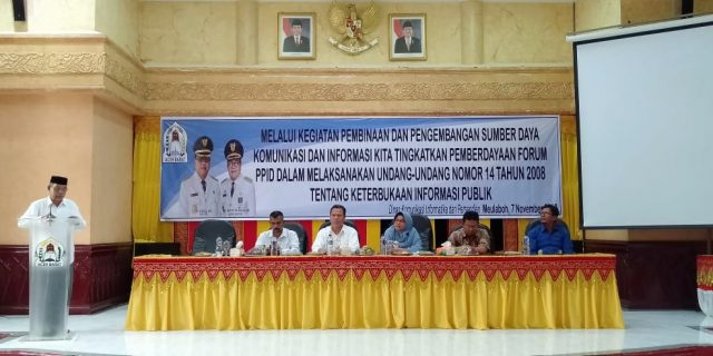 PPID Aceh Barat Susun Daftar Informasi Publik