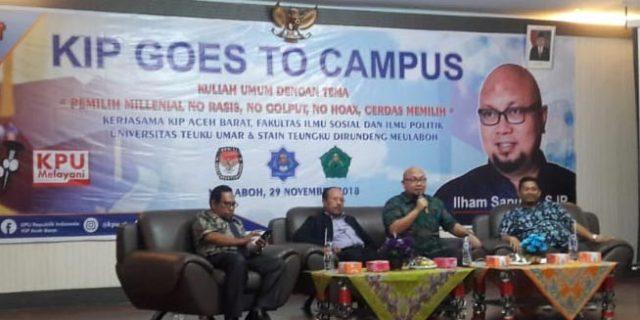 KPU Ajak Pemilih Milenial Tak Golput